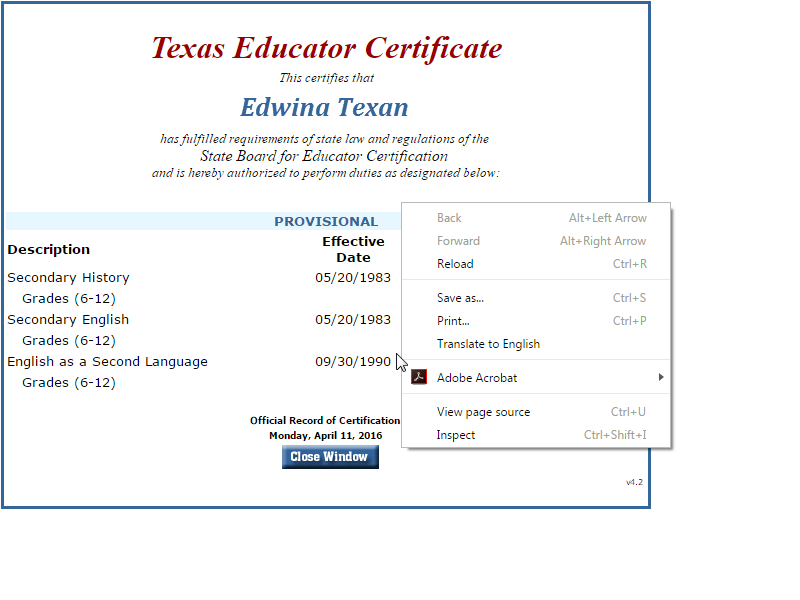 Ideas Of How Do I Get My Texas Teaching Certificate For Your Free